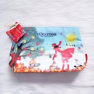 3 FOR $15 L'Occitane en provence Zip Up Makeup Bag